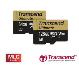 Transcend Ultimate UHS Video Speed Class 30 (V30) microSD-Karten